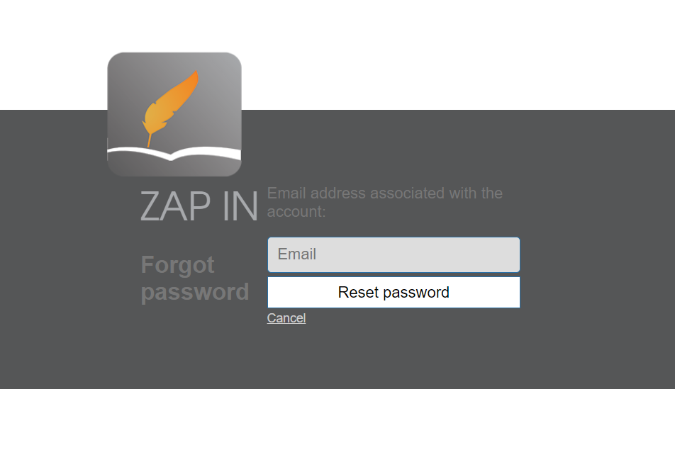 Zap in visitor management system login